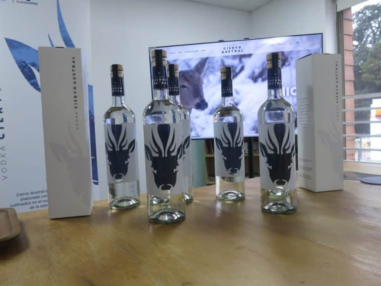 Ciervo Austral, 1er vodka de trigo nacional en Chile