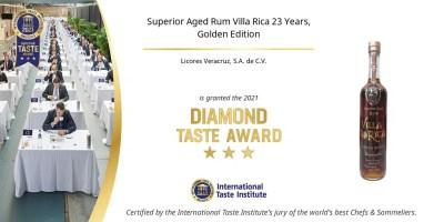 Ron Villa Rica 23 Años Edición Oro