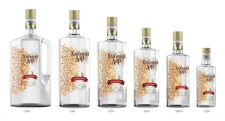 El vodka ucraniano Khlibnyi