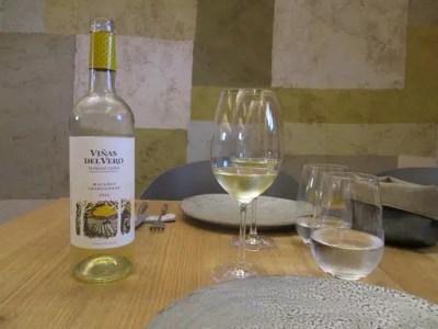 vino blanco del Somontano