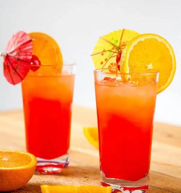 Tequila sunrise, un amanecer del verano 2021 en una copa