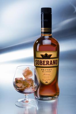 El brandy Soberano