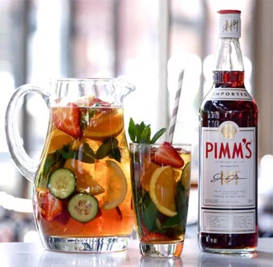 Pimm's No. 1, licor inglés a base de gin, especias, hierbas y frutas