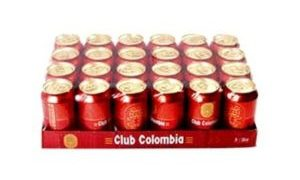 Club Colombia roja por 24 unidades