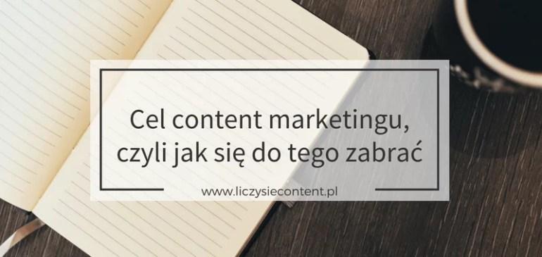 cel content marketingu
