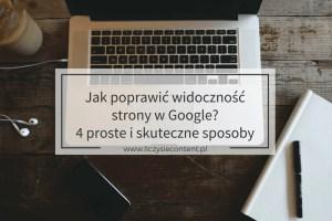 widoczność strony w Google