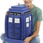 DOCTOR WHO DELUXE TALKING 60 CM PLUSH TARDIS