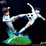 Captain Tsubasa Golden Twin Shot Resin Oliver Hutton Holly & Tom Becker 9