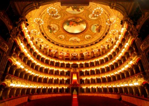 Bellini Theater in Catania