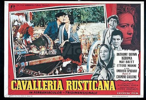 La Cavalleria ispiro` ben cinque film e divenne parte di varie colonne sonore cinematografiche.