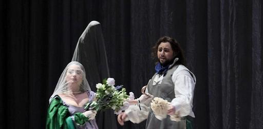 Tosca di G. Puccini al Teatro Filarmonico di Verona.