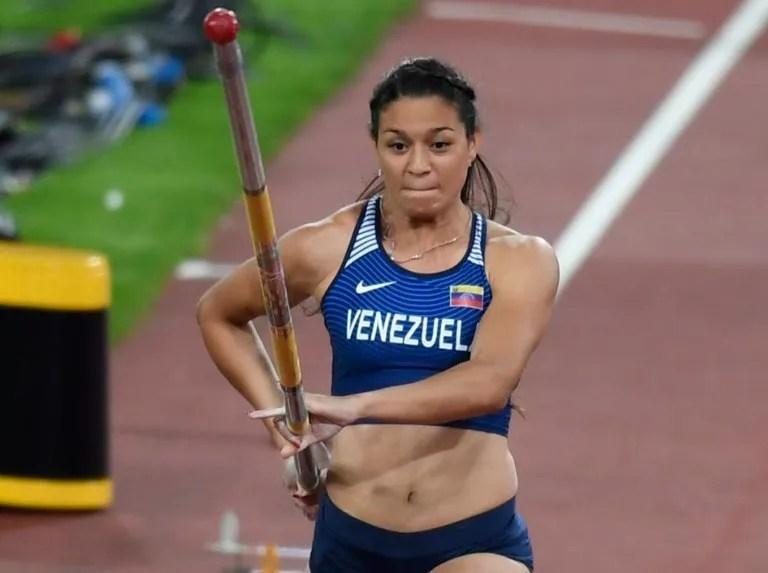 Robeilys Peinado entra en acción en garrocha   Líder en deportes