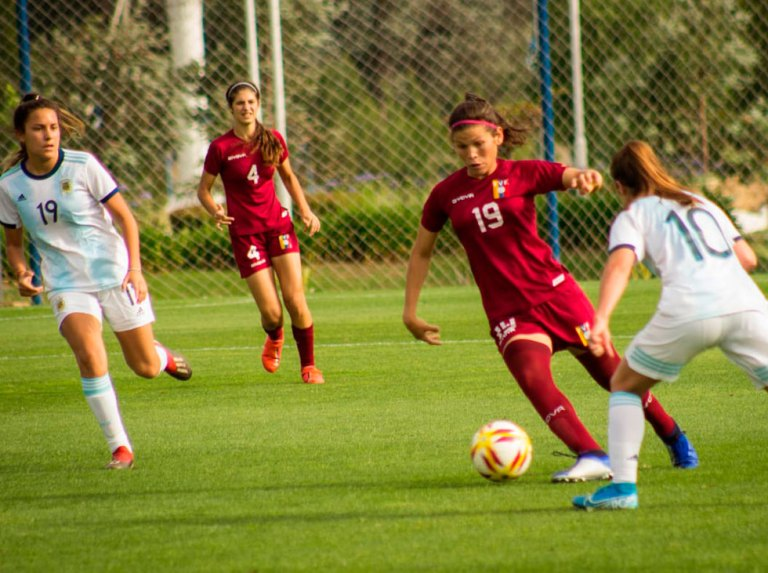 Vinotinto Femenina announces the call for the Basque Country International Women's Cup