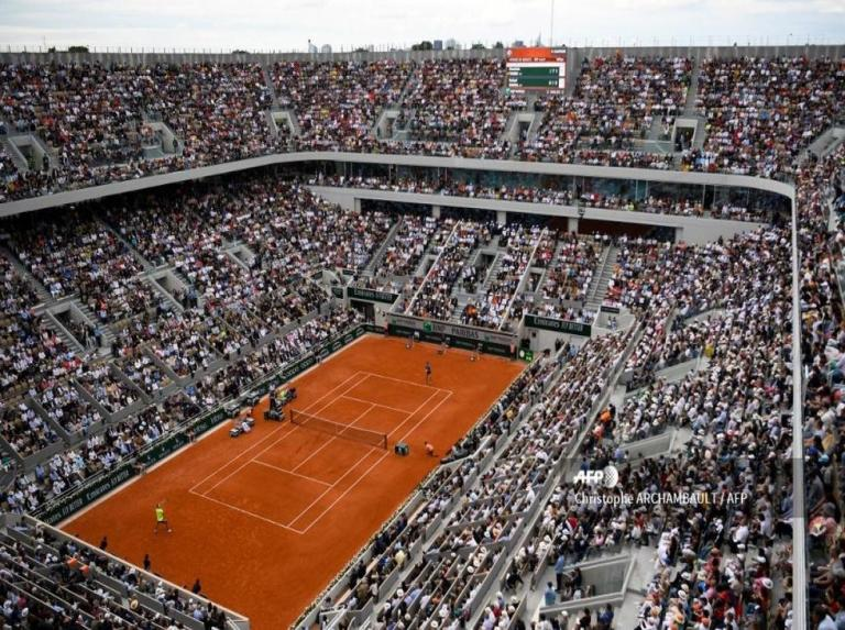 French government confirms that there will be an audience at Roland Garros