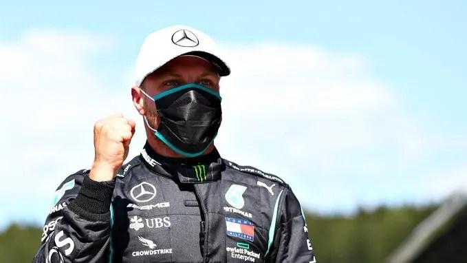 Bottas leaves first due to suspension Hamilton in Turkey