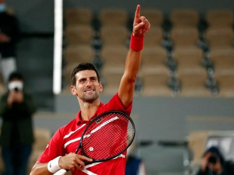 """Djokovic: """"Quizás lo único que echo en falta es estudiar más"""""""