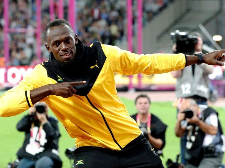 "Bolt: ""I am happy to be considered a legend like Maradona, Pelé or Ali"""