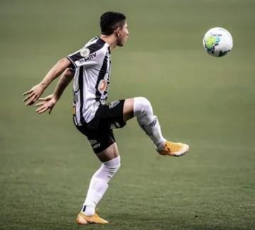 Savarino saw minutes with Atlético Mineiro again