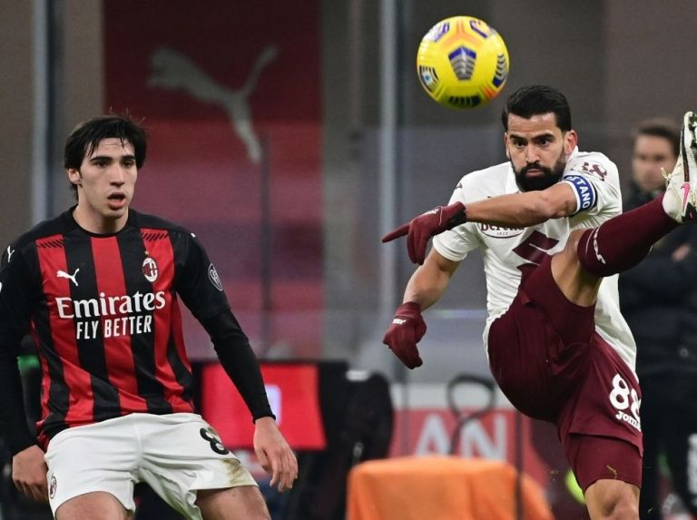 Rincón and Torino welcome the 'Vecchia signora'