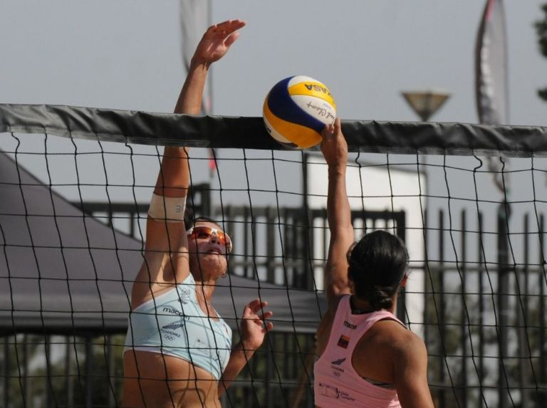Venezuelans were champions in the South American Beach Volleyball