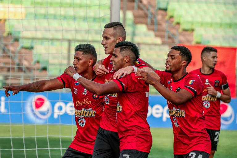 Caracas debuted with victory in the Futve League