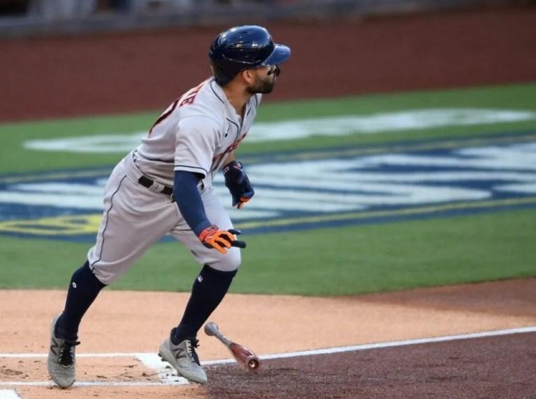 José Altuve leads the Astros in home runs