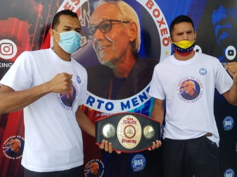 Boxing becomes effective with a billboard in Turmero