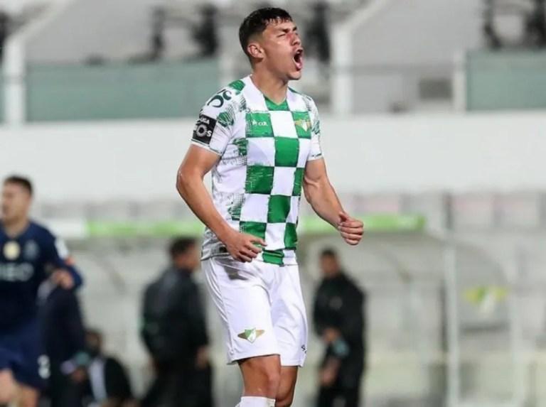 Nahuel Ferraresi sumó su tercer gol en Portugal