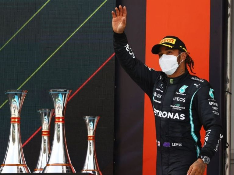 Hamilton crowned the Spanish GP
