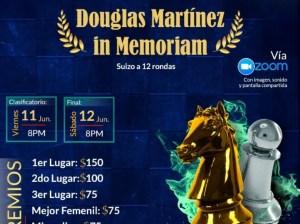 Sembrar ajedrez | Torneo en honor a Douglas Martínez