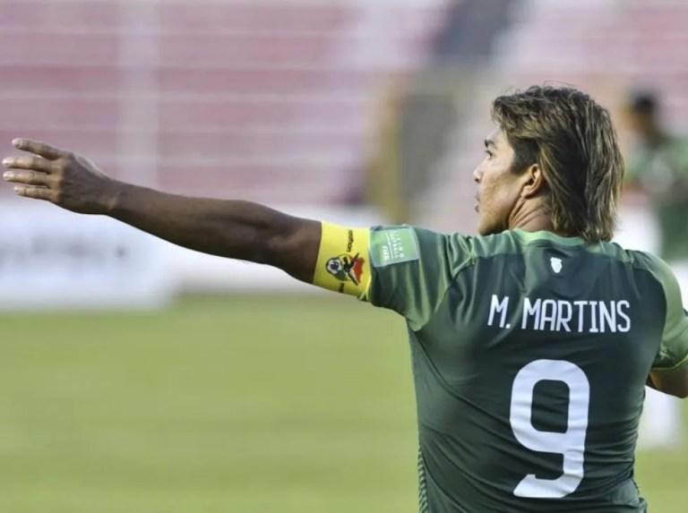Conmebol suspends Marcelo Martins for a match