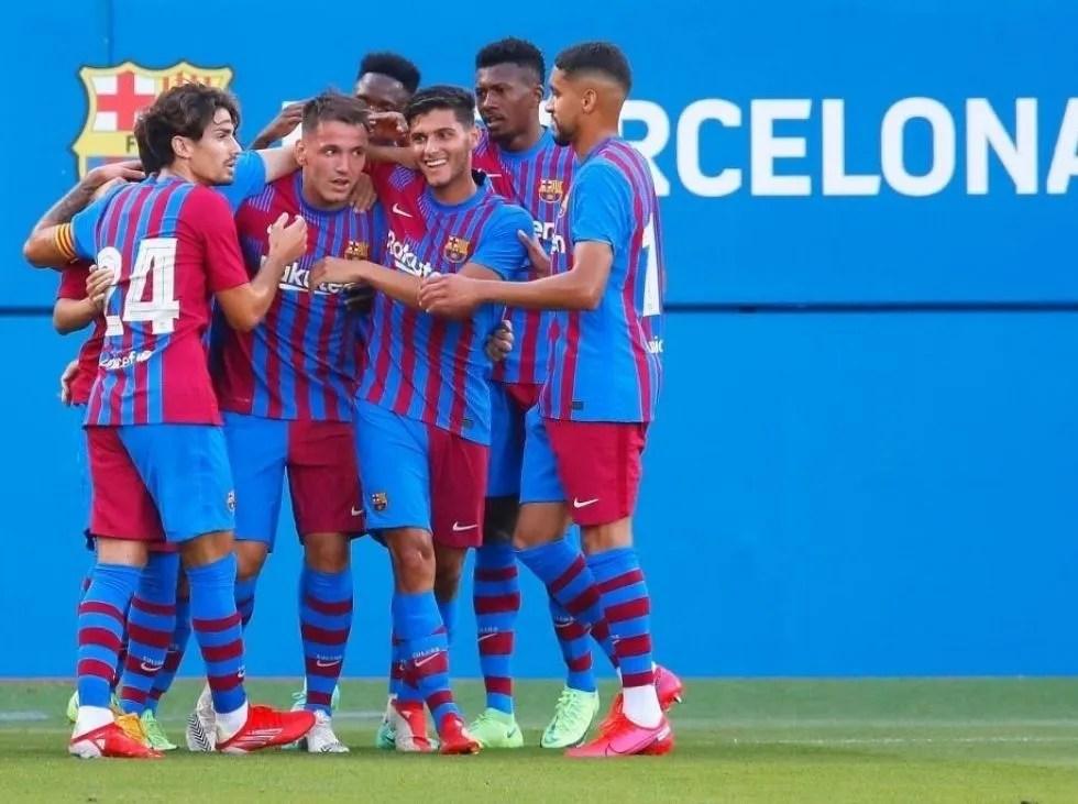 Barcelona inició goleando en la pretemporada