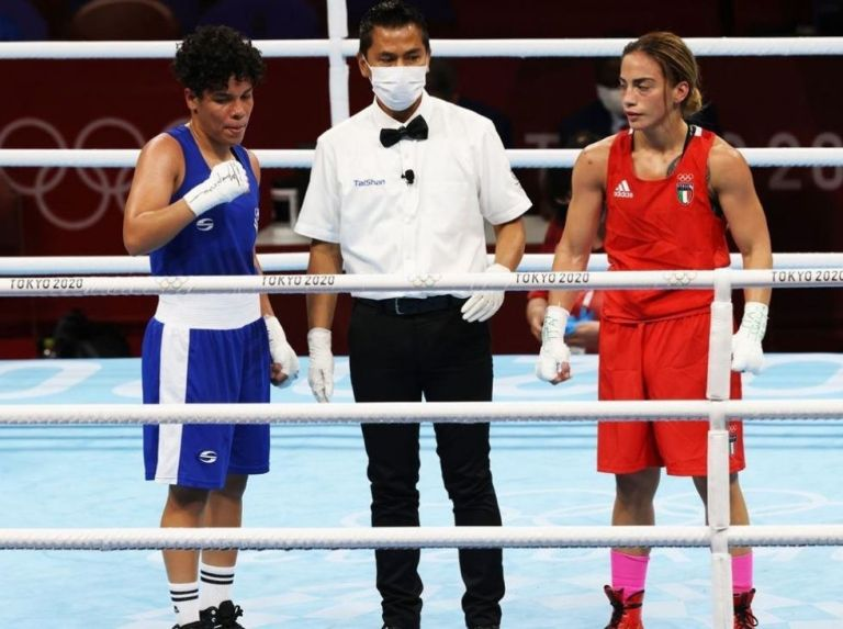 Irismar Cardozo could not in her Olympic premiere