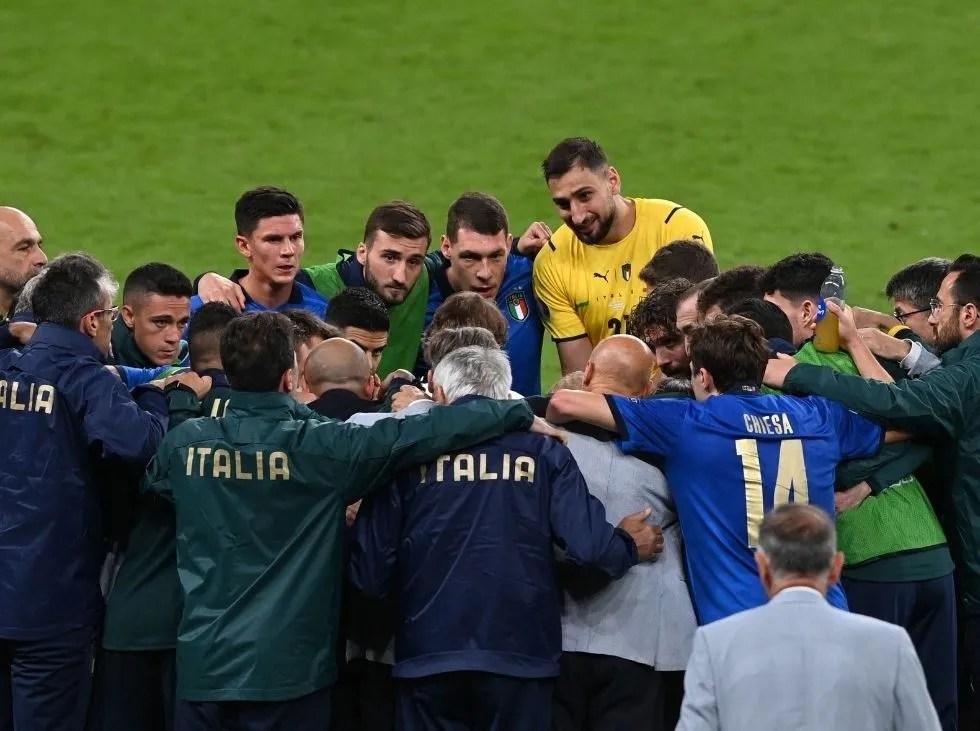 Italia sacó a España y clasifica a la final de la Euro