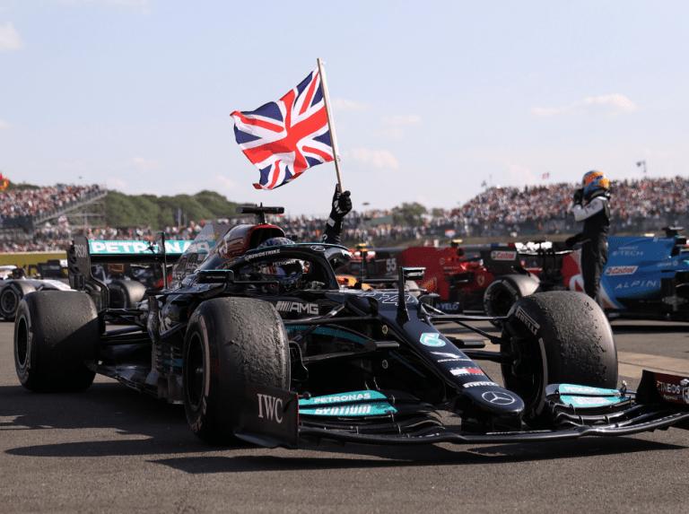 Lewis Hamilton wins the British GP