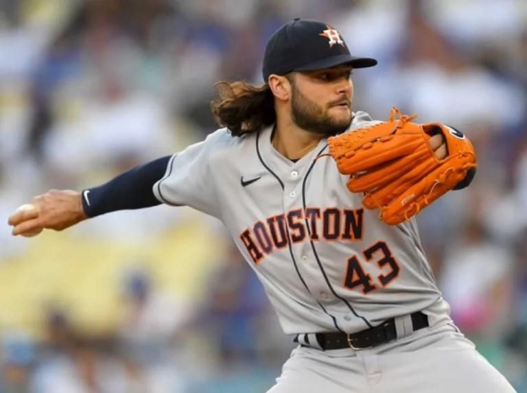 Astros blanquean a Dodgers en Los Ángeles