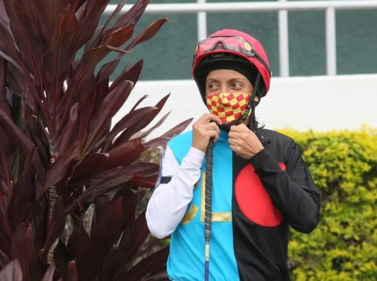 María Alejandra Bruzual se lució en La Rinconada
