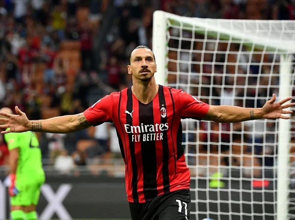 AC Milan ganó en el regreso de Zlatan