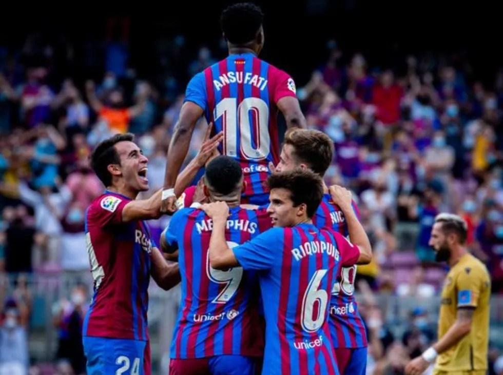 Barcelona recupera la sonrisa y a Ansu Fati