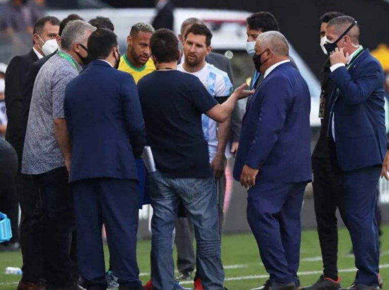 FIFA receives first reports Brazil vs Argentina