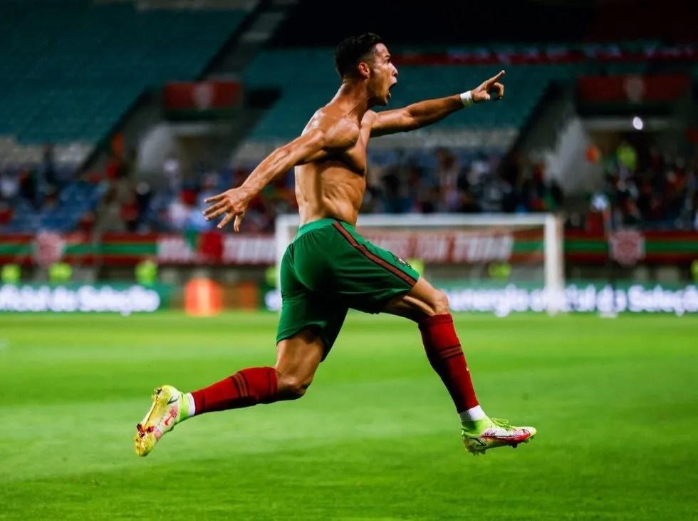 Cristiano dejó atrás el récord de Ali Daei en remontada ante Irlanda |  Líder en deportes