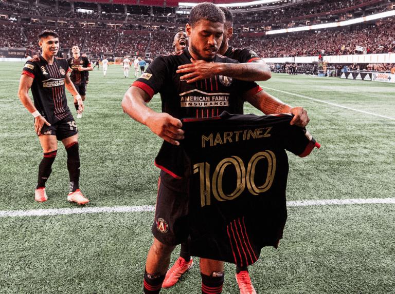 Josef reached a hundred goals for Atlanta United