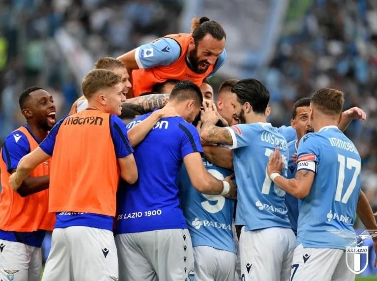 Lazio se impone en clásico de Roma