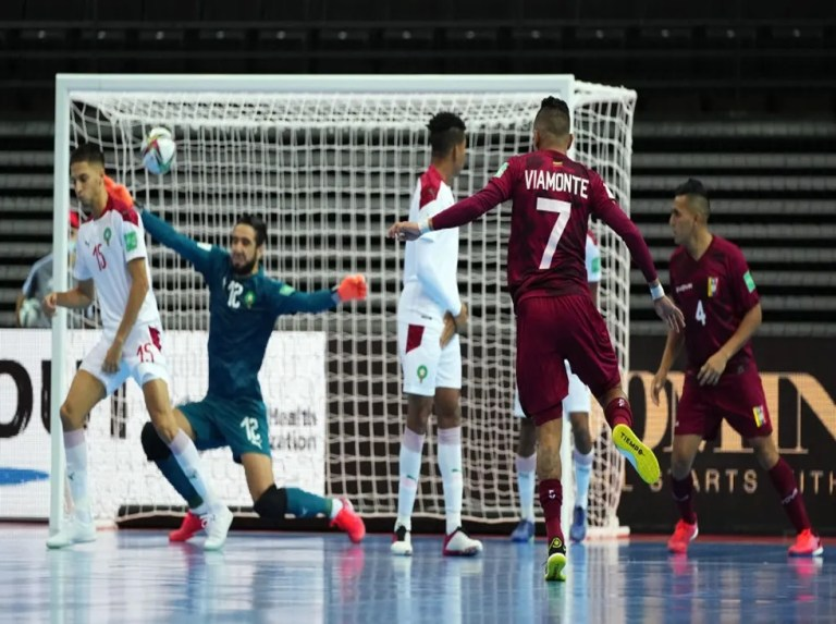 Viamonte destacó el trabajo de La Vinotinto de Futsal