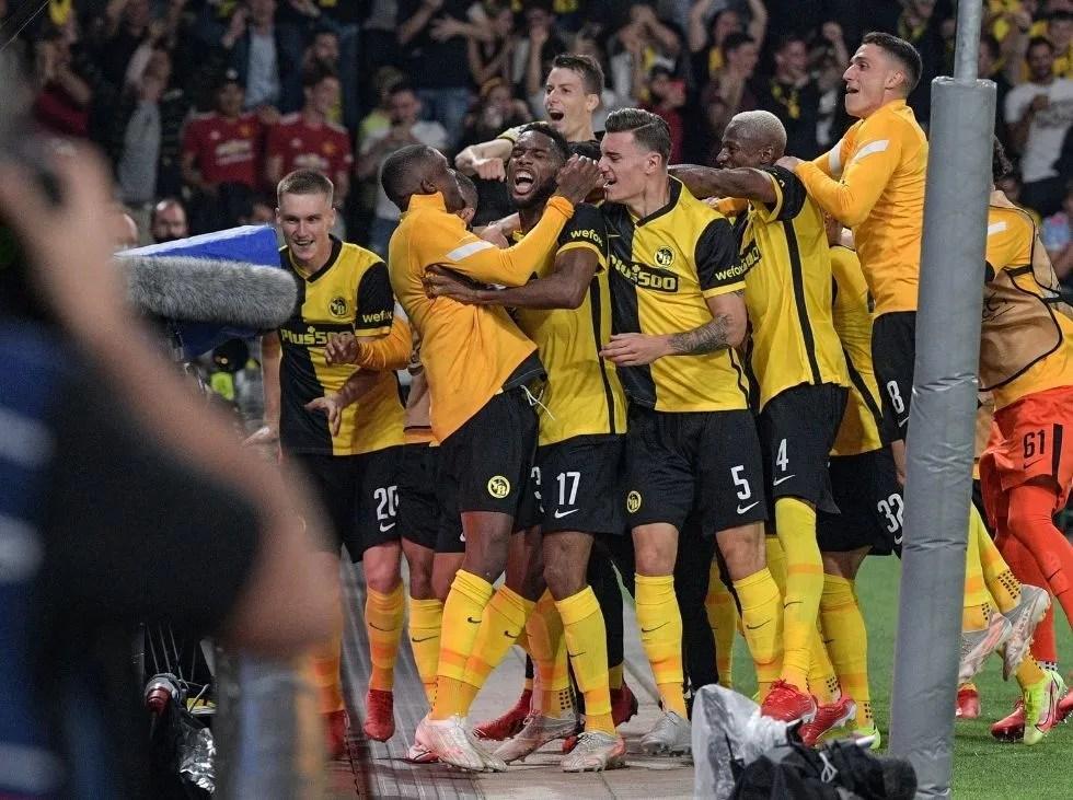 Young Boys sorprendió al United en Champions