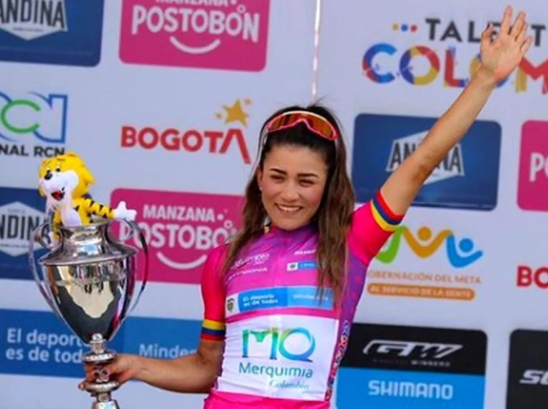 Lilibeth Chacón graduated from the Tour of Colombia