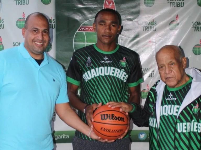 Luis Duarte firmó con Guaqueríes para la próxima campaña