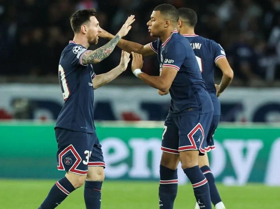 Messi y Mbappé le dieron los puntos al PSG