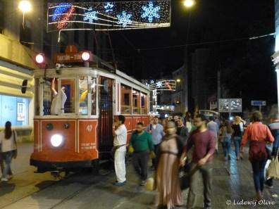 Tram in Instanbul