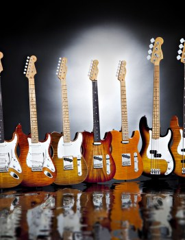 Fender® Limited Edition Guitars and Basses
